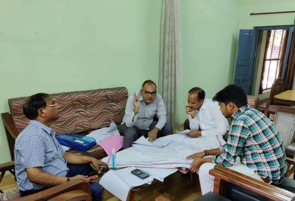 Review Meeting for Preparation of DPR for Re-modelling of Ken Canal and Tanks under KBLP on 30-09-21